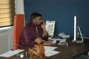 Ruban Thiyagarajah, oprichter, eigenaar en directeur,