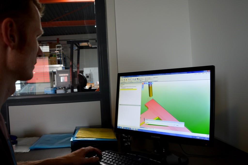 3D-programma Edgecam.