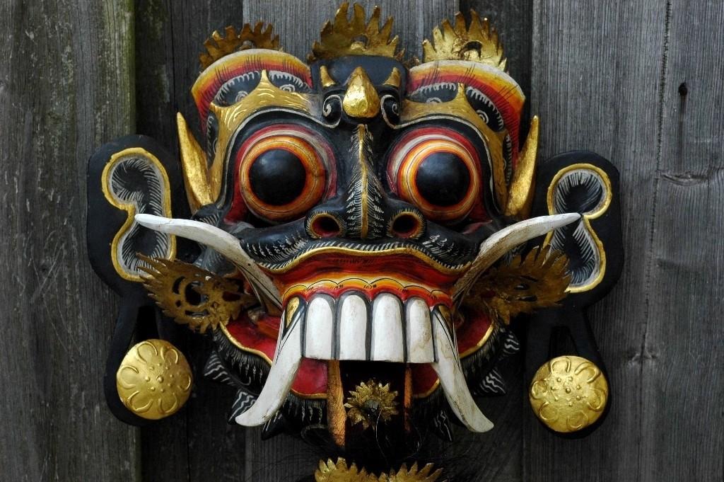 Barong masker 001