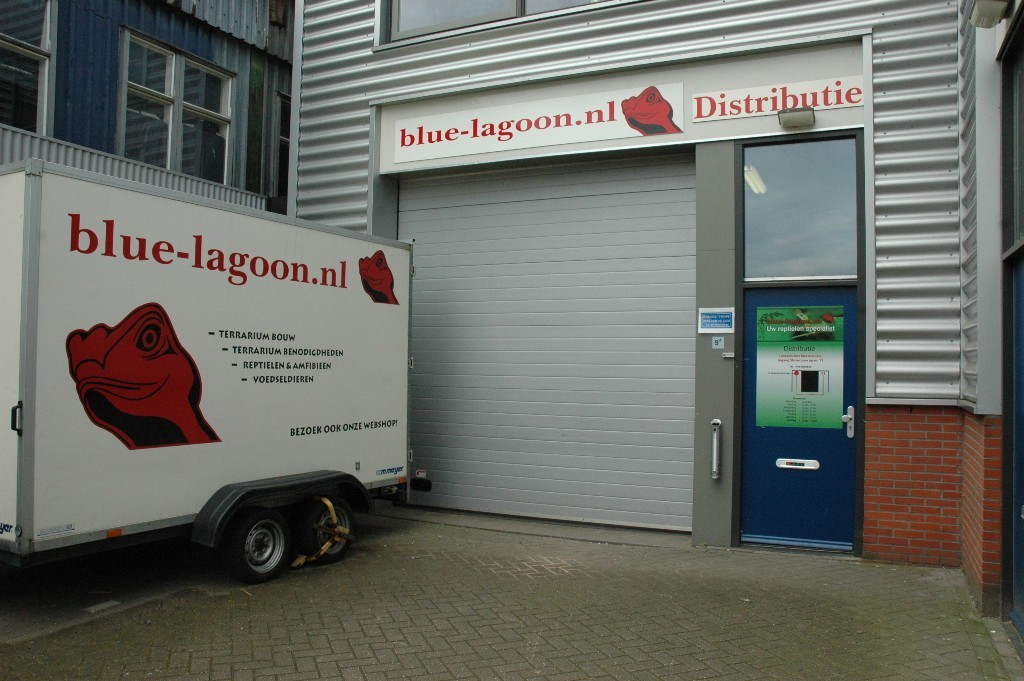 Blue Lagoon leveranciersingang