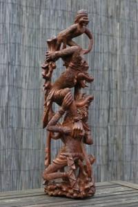 Hanuman met de apen Robert