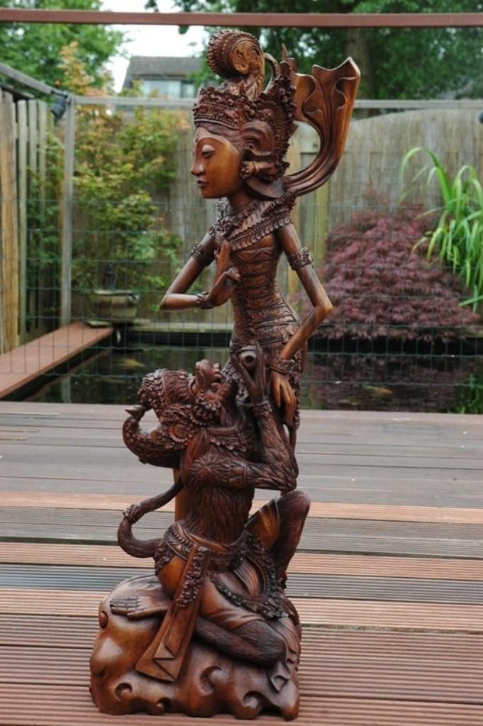 Rama en Hanuman, het hele beeld