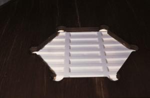 Paludarium ventilatierooster dicht