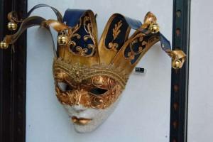 Venetiaans Masker in winkel Zutphen (2)