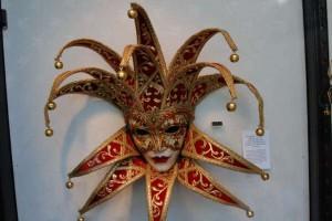 Venetiaans Masker in winkel Zutphen