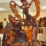Galerie Sembahyang Wood carvers.