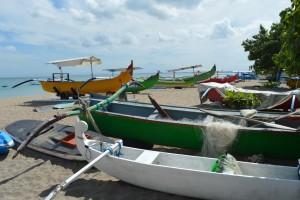 De karakteristieke Balinese vlerkprauwen