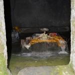 Gunung Kawi, een in de rotsen uitgehouwen tempelcomplex.