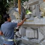 Ten noorden van Ubud, op ongeveer 40 minuten rijden, vind je bij het dorp Tampak Siring het prachtige tempelcomplex Tirta Empul, de tempel van het heilige water.